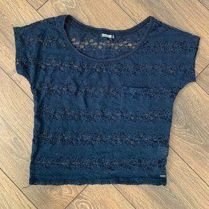 ⭐️2 /$12 ⭐️Garage lace top XS
